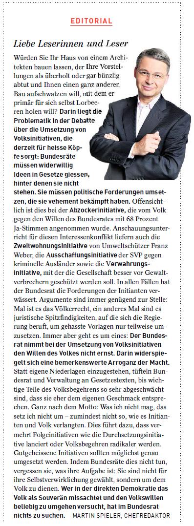 Spieler Editorial